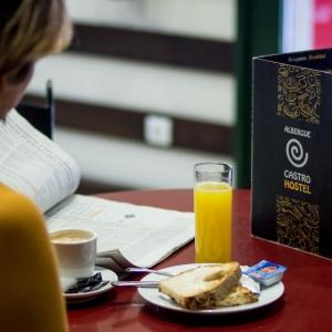 Albergue Castro - Cafetería